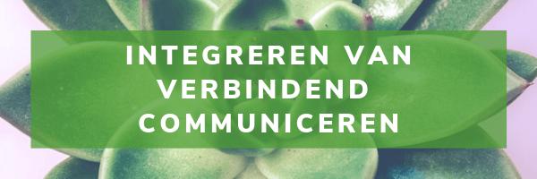 5-Daagse Integratie van Verbindend Communiceren (maandag-groep)